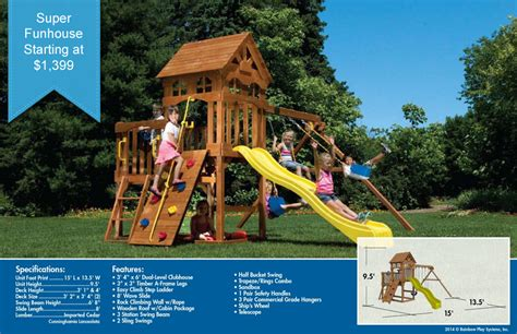rainbow swing set prices models pricing rainbow play systems swing sets and