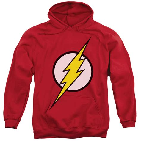 Flash Hoodie the flash classic logo s hoodie superheroden
