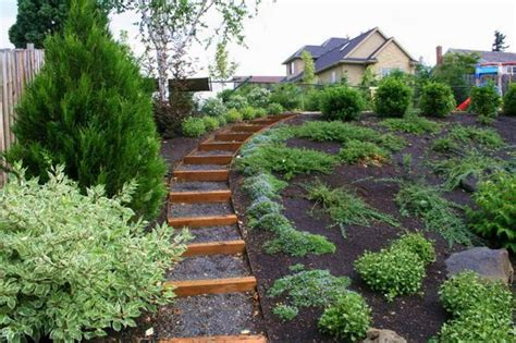 Landscaping A Hilly Backyard by Gardening Landscaping Landscaping Ideas For