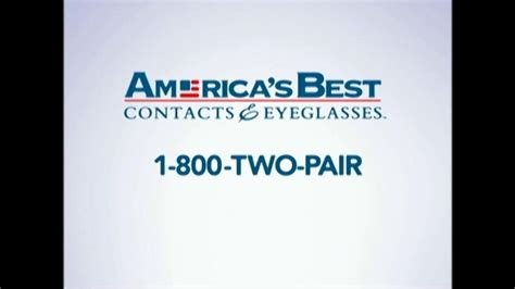 america s best contacts and eyeglasses tv commercial
