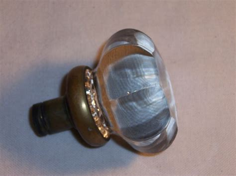 Glass Door Knobs With Lock Antique Mortise Lock Glass Door Knob Vintage Handle Hardware Replacement Ebay