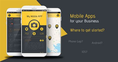 how to a where to how to build a mobile app for business and where to get started