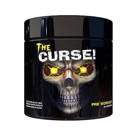 The Curse 50 Serving Pre Workout Cobra Labs Pre Work Out Preworkout cobra labs the curse advanced pre workout 50 servings lemon jet