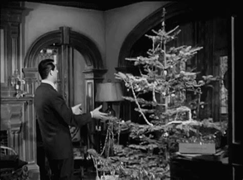black gif xmas black and white vintage gif find on giphy