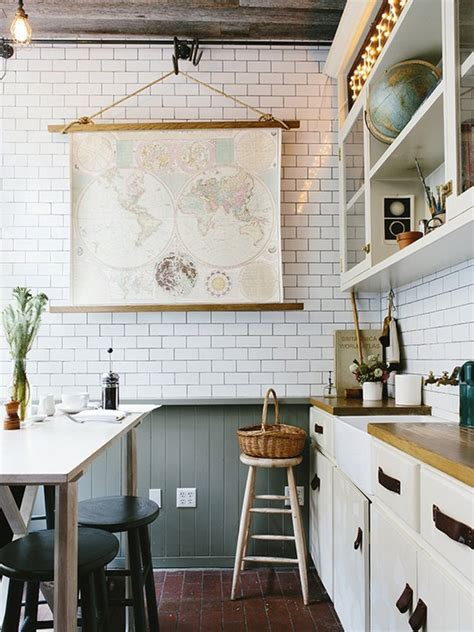 subway tile for kitchen white kitchen subway tile the interior collective