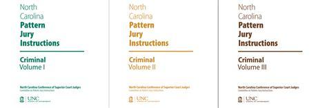 nc pattern jury instructions criminal nc pattern jury instructions for criminal cases complete