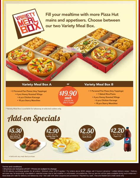 Moorlife Baby Meal Box Sale pizza hut singapore new varierty meal box promotion 23 mar