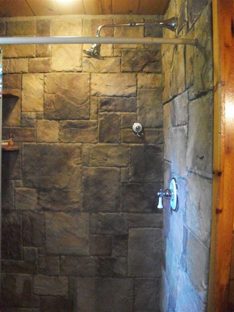 Rock Shower by Shower In Classic Shower Design With