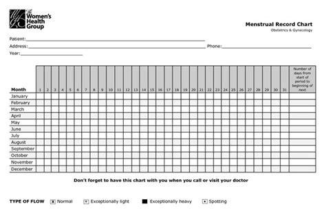 menstrual calendar printable calendar picture templates