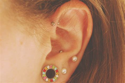 how to care for a helix or forward helix piercing image gallery helix piercing and sleep