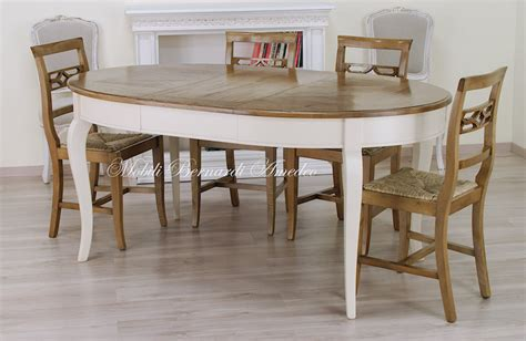 tavoli ovali bianchi tavoli stile classico rotondi e ovali 6 tavoli