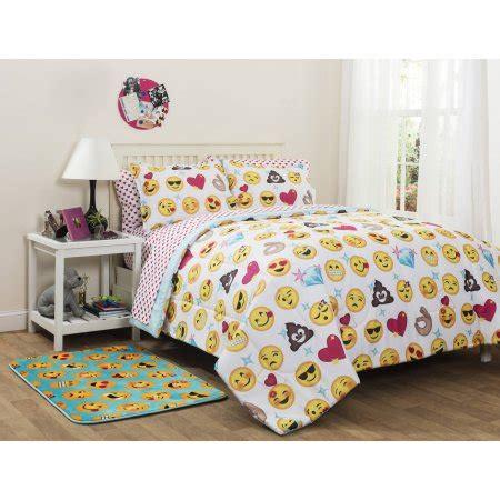 bed and bag comforter sets emojipals bed in a bag bedding set only walmart