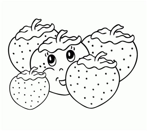 imagenes para colorear fresa dibujos para imprimir y colorear fresas para colorear