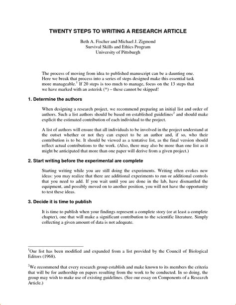 Writing Term Paper Guidelines by Guidelines In Writing A Research Paper Term Paper
