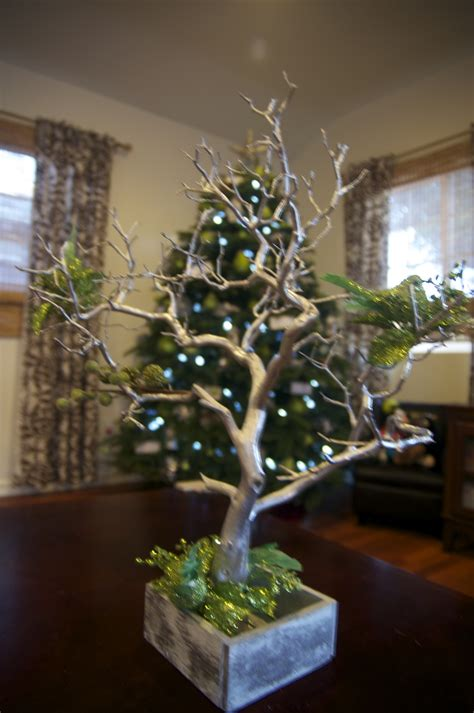 decorated manzanita tree christmas 2011 event decor