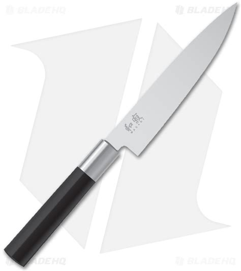 kai wasabi black 6 quot kitchen utility knife 6715u blade hq kai wasabi black knife set 7 piece blade hq