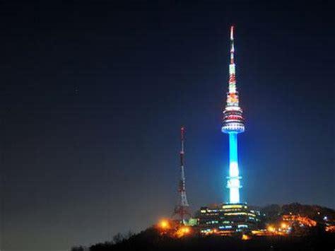 namsan seoul tower icon wisata  korea selatan