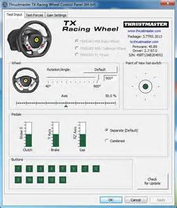 Thrustmaster Steering Wheel Pc Drivers Thrustmaster Tx Racing Wheel Compatible With Pc Inside