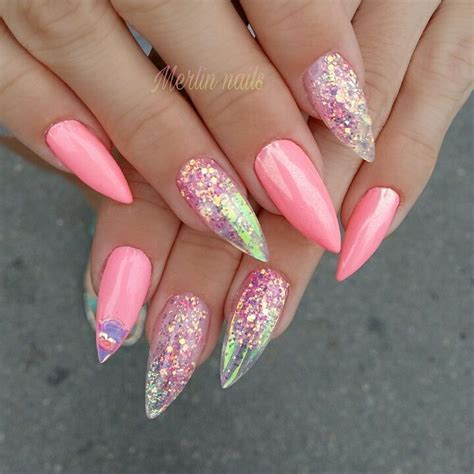 Funky Pink Nail Designs