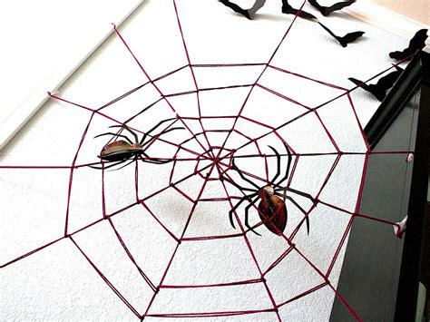 decorating with spider webs for yarn spider web hgtv