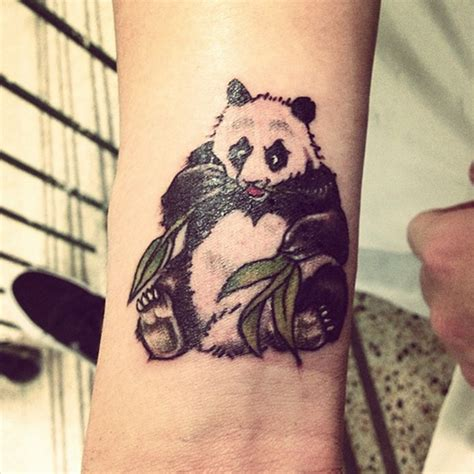 tattoo panda no pé 100 cute and small tattoos that will make you want one