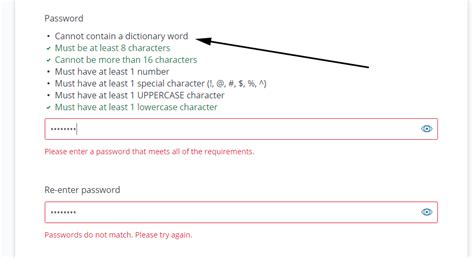 8 Characters That Id To Be by Password Requirements Shaming