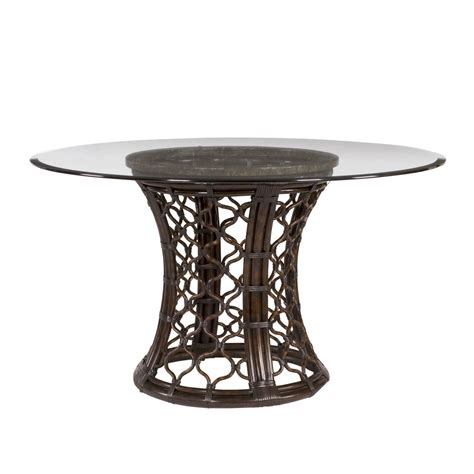 glass pedestal dining table dining table rattan dining table base