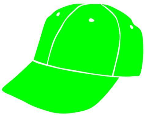 baseball cap clipart lime baseball cap clip at clker vector clip