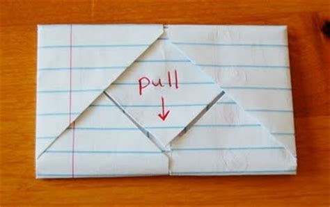 Cool Way To Fold Paper - ways to fold notes random cool stuff