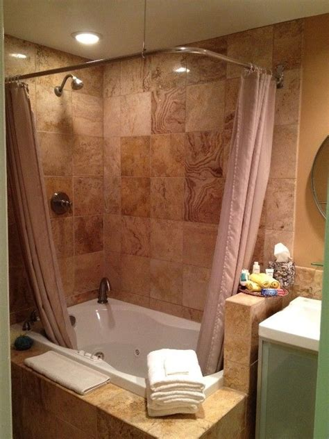 bathtub shower curtain surround best 25 jacuzzi tub decor ideas on pinterest garden tub