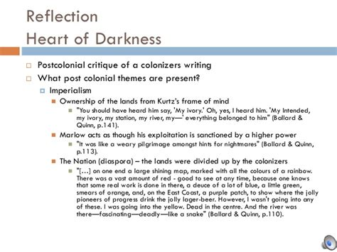 theme of heart of darkness essay michelle final project engl 2310