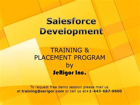 Salesforce Powerpoint Template Salesforce Training Ppt Authorstream