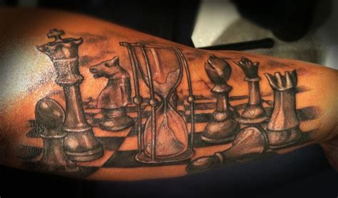 chess tattoo tattoos chess board tattoos by becky www