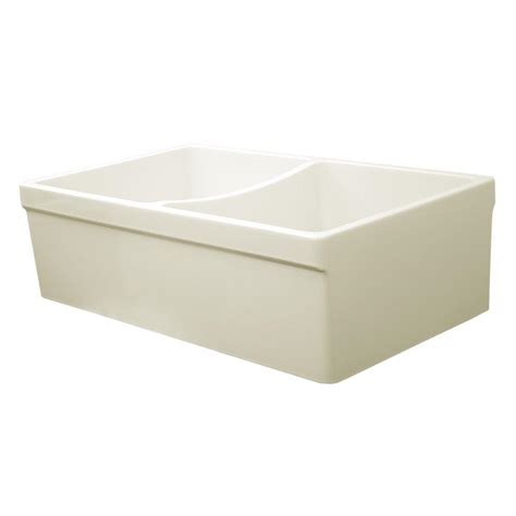 Whitehaus Collection Quatro Alcove Reversible Farmhaus Whitehaus Kitchen Sinks