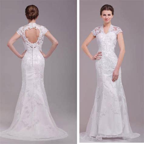 imagenes de vestidos de novia con escote en la espalda hermoso vestido de novia de boda encaje con escote espalda