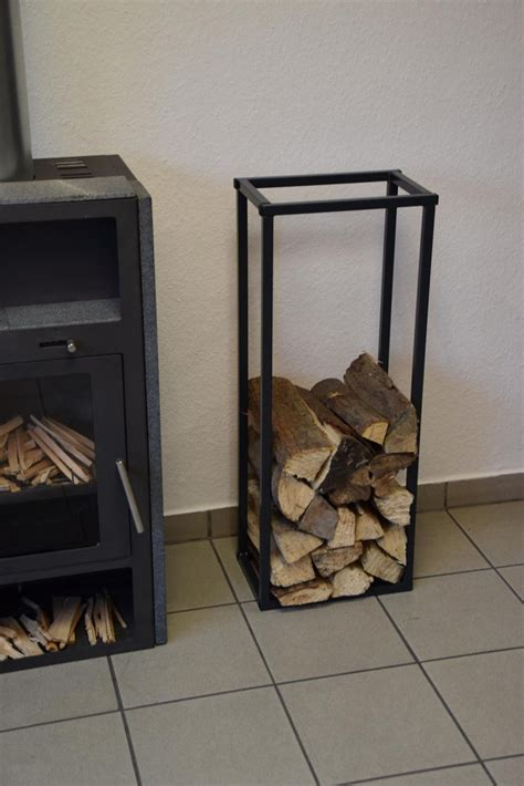 brennholzregal innen kaminholzregal innen stab plan 1500x350 aus metall