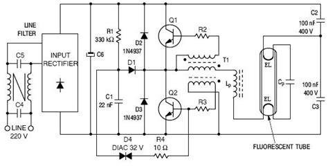 circuit diagram of electronic choke electronic ballast diagrams wiring diagram with description