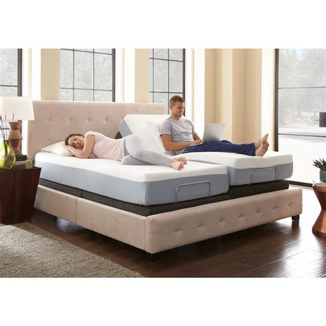 rest rite king size rest rite adjustable foundation base bed frame with remote