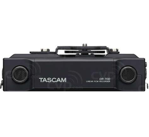 Tascam Dr 70d Professional Field Recorder buy tascam dr 70d dr70d 4 channel professional grade audio recorder for dslr cameras
