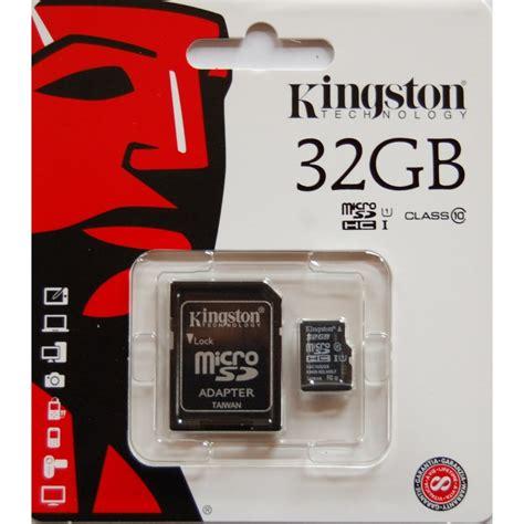 Memory Card Microsd 32gb Class 10 kingston 32gb class10 sd card