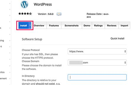 install wordpress detailed tutorial  beginners