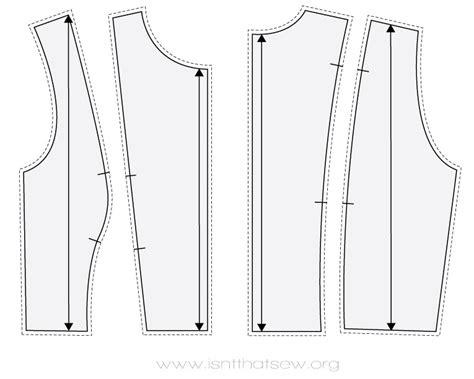 pattern cutting princess line 10 easy steps to creat the classic princess seams pattern