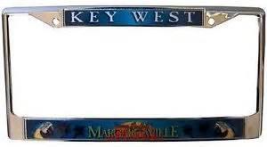 Vanity Plate Ca Jimmy Buffett Margaritaville Logo License Plate Frame Palm