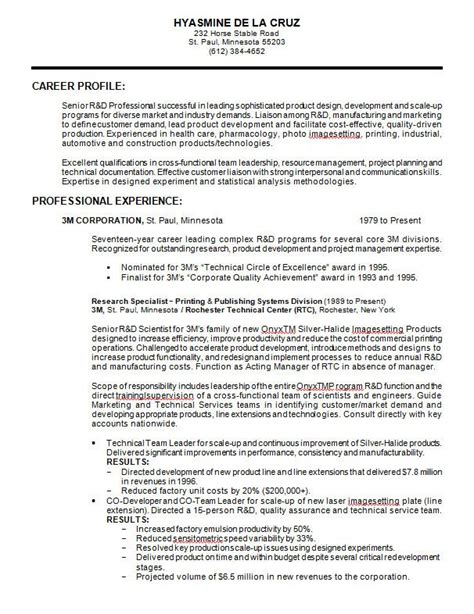 Biology Resume Exles With Skills by Direct Support Professional Resume Cover Letter