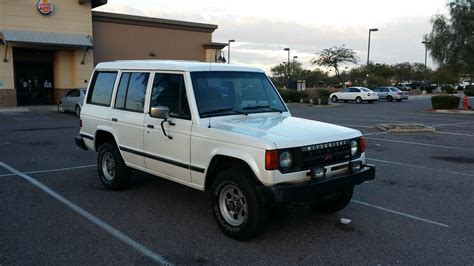 mitsubishi montero 1990 mitsubishi montero 4x4 great condition