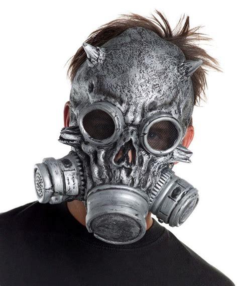 biohazard gas mask by tara skull chemical biological warfare biohazard costume gas