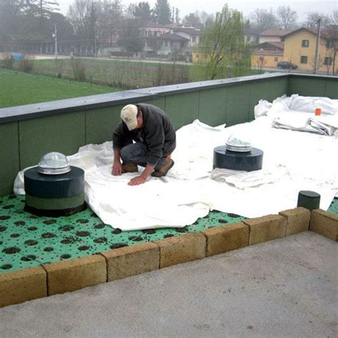 terrazza giardino pensile giardino pensile elemento modulo altezza windi drain 5