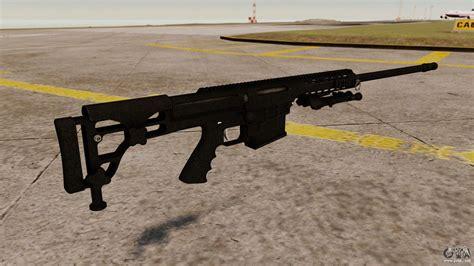 barrett m98b the barrett m98b rifle for gta 4