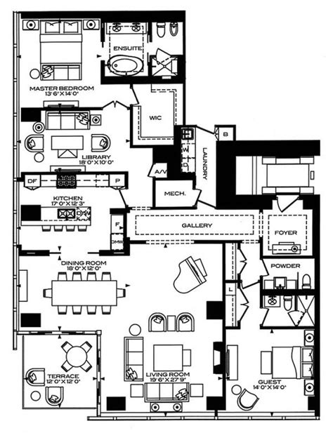 floor plans toronto four seasons private residences 50 yorkville ave floor