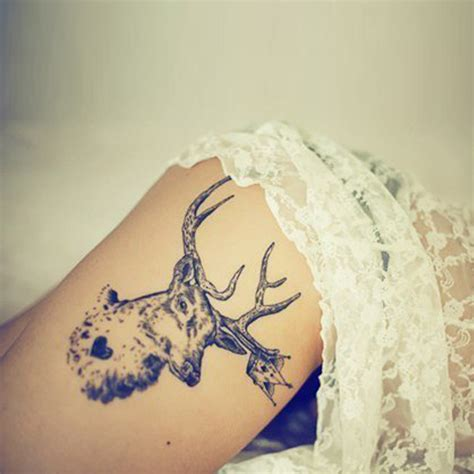deer tattoo meaning deer meanings itattoodesigns